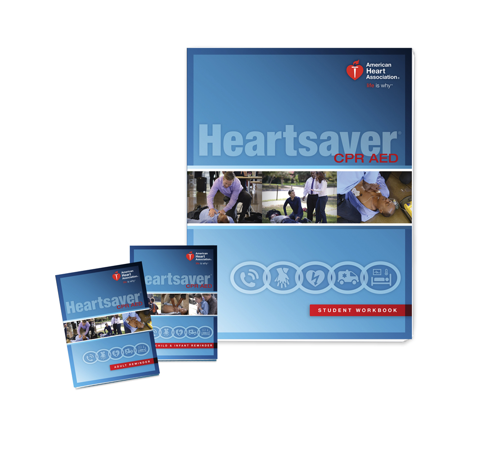 Studying Workbooks: Heartsaver CPR AED Student Workbook 2015
