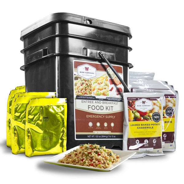 Gluten Free Emergency Food Bucket