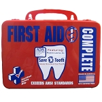 The Complete First Aid Kit - Includes Save-A-Tooth