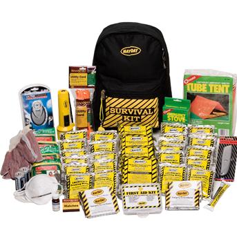 Survival gear food supplies