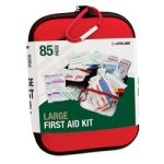 Large Hard-Shell Foam First Aid Kit (85 Piece)