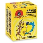 "Looney Tunes Bandages - Coyote & Roadrunner - 3/4"" x 3"" - Box/100"
