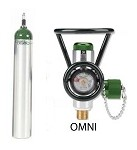 ME Cylinder with Omni Valve (0-25 LPM + Diss)