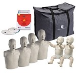Prestan CPR Manikins and AED Trainer - The Complete Instructor Package
