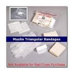 Student First Aid & CPR Training Kit w/ Muslin Bandages (Case of 100)