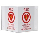 AED Plus 3D Wall Sign