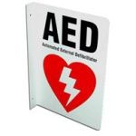 2-Way AED Wall Sign