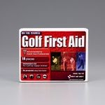 Golf First Aid Kit - 18-Piece (Mini Plastic Case)