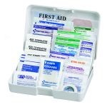 Auto First Aid Kit - 41-Piece (Small Yellow Plastic Case)