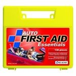 Auto First Aid Kit - 138-Piece (Large Plastic Case)