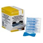 "Blue, Metal Detectable Woven Fingertip Bandage (1 3/4"" x 2"")"
