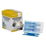 "Blue, Metal Detectable Woven Knuckle Bandage (1 1/2"" x 3"")"