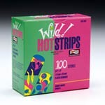 Wild Hot Adhesive Bandages, Strips, 3/4