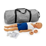 3 Year Old CPR Child Kyle with Bag