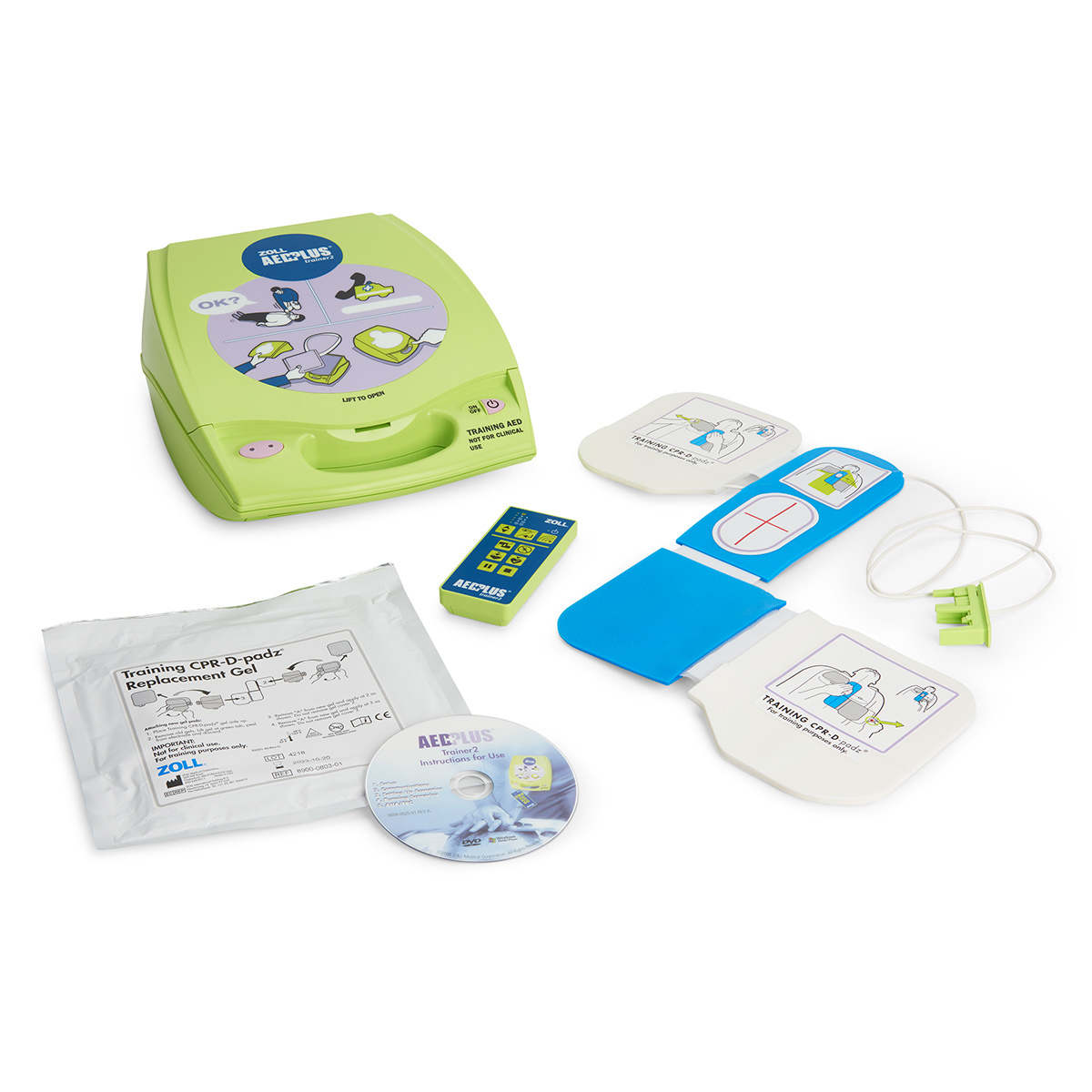 ZOLL AED Plus Trainer2 Unit | 8008-0050-01 made by ZOLL | CPR Savers and  First Aid Supply