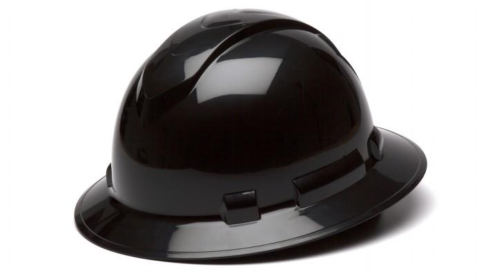 RIDGELINE FULL BRIM HARD HAT - BLACK