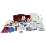 Bleed Control Trauma Management Station - Red
