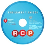 AHA Spanish Family & Friends CPR DVD w/ Facilitator Guide