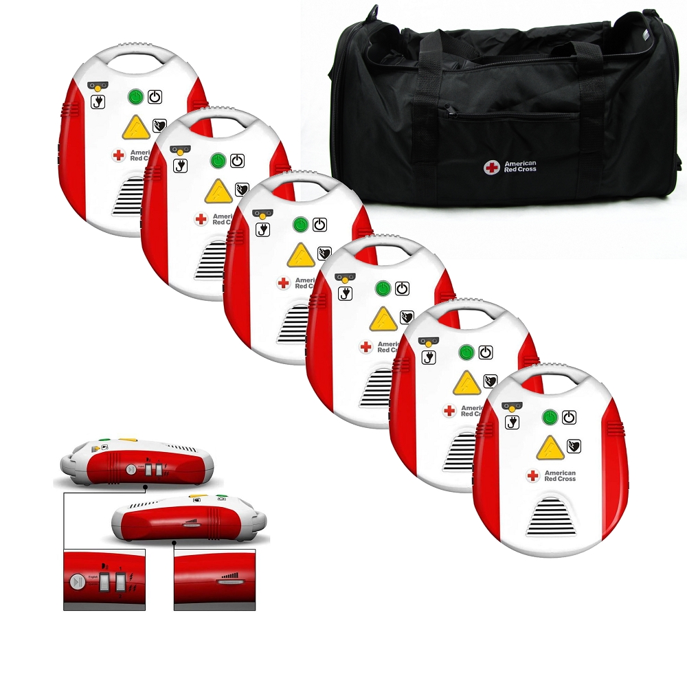 American red cross aed trainer 6 pack 321298 6 made by american american red cross aed trainer 6 pack 321298 6 made by american red cross cpr savers and first aid supply xflitez Image collections