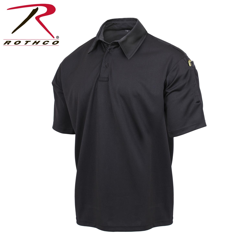 Black Tactical Polo Shirt c8a60388ea2