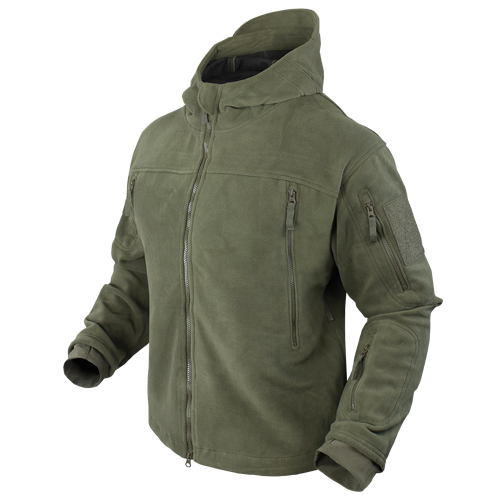 SIERRA Hooded Fleece Jacket | 605- made by Condor Outdoor Products ...