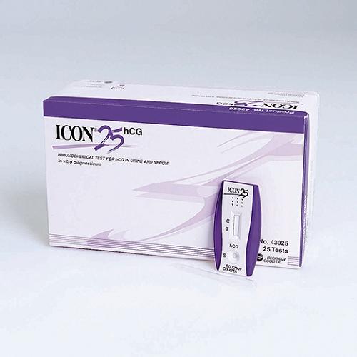 Icon Pregnancy Test 25 hCG(Box 0f 25)