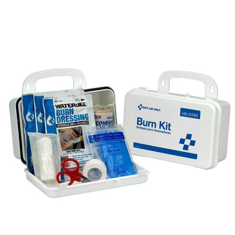 Burn Care Kit, Plastic Case - 11-Piece (Bulk)