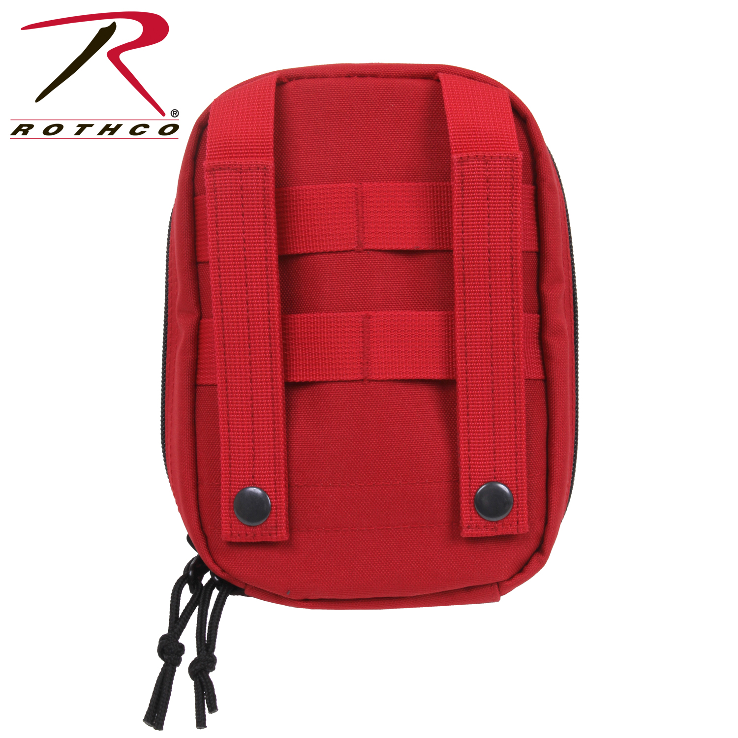 Red M O L L E  Tactical First Aid Kit