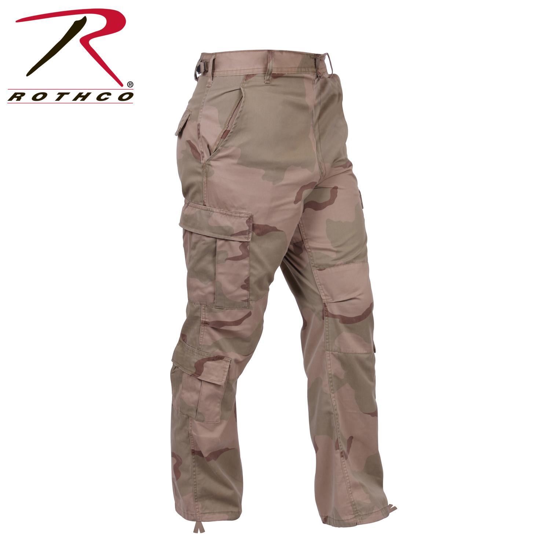 Tri Color Desert Camouflage B D U Pants
