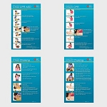 Heartsaver Child and Infant Poster Pack - 8 pk