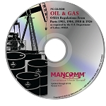 OSHA Oil and Gas Regulations CD