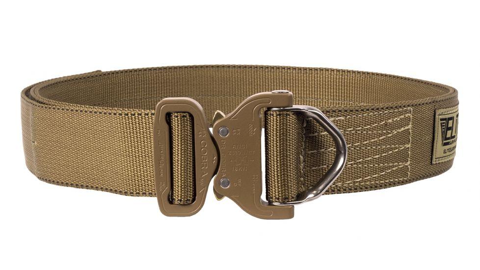 D-ring Cobra Riggers Belt, Coyote Tan, Large