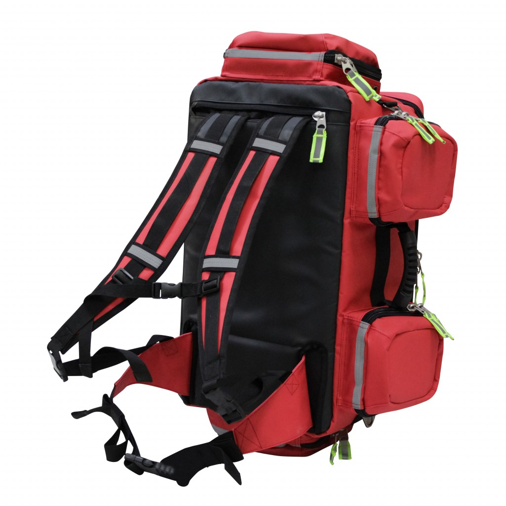 Kemp Usa Tarpaulin Red Fluid Resistant Total Ems Bag
