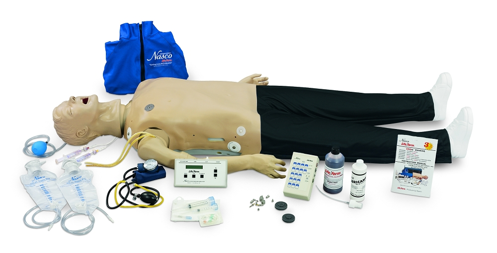 d1f8836b048 Deluxe CRiSis Manikin with Interactive ECG Simulator and Advanced Airway  Management