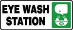 Plastic Eye Wash Station Sign