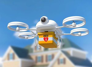 What's Faster Than an Ambulance? An AED in the Sky