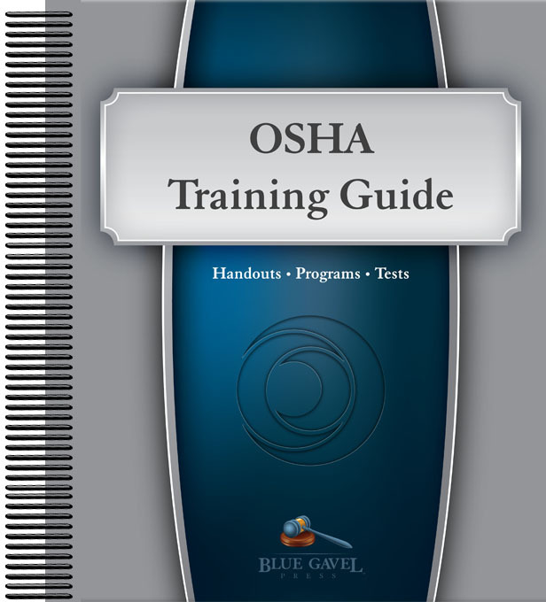 OSHA Training Guide | BG-TG-OS made by Mancomm | CPR Savers and First Aid  Supply