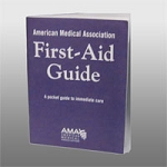 40 pg. AMA First Aid Guide booklet