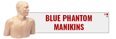 CAE Blue Phantom Manikins
