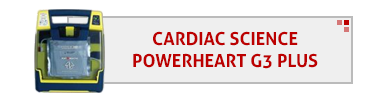 Cardiac Science Powerheart G3 Plus AED & Accessories
