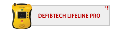 Defibtech Lifeline PRO AED & Accessories