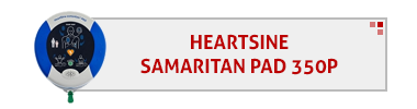 Heartsine Samaritan Pad 350P AED & Accessories