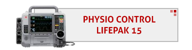 Physio Control LifePak 15 AED & Accessories