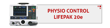 Physio Control LifePak 20e AED & Accessories
