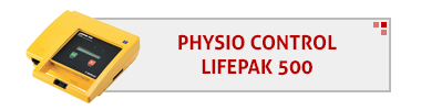 Physio Control LifePak 500 AED & Accessories