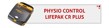 Physio Control LifePak CR Plus AED & Accessories