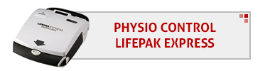 Physio Control LifePak Express AED & Accessories