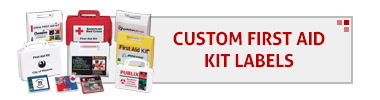 Custom First Aid Kit Labels