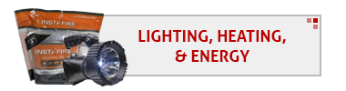 Lighting, Heating & Energy