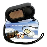 Solar Dynamo 3 LED Flashlight